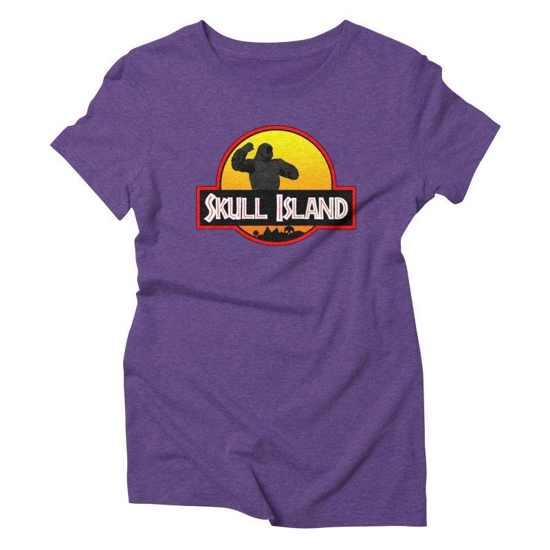 Skull Island Women's Triblend T-shirt by doombxny's Artist Shop