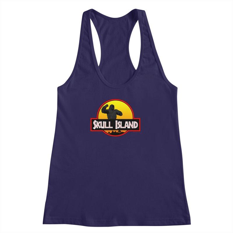Skull Island Women's Racerback Tank by doombxny's Artist Shop