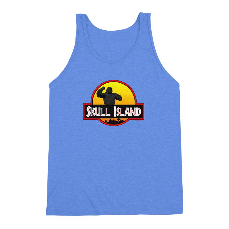 Skull Island Men's Triblend Tank by doombxny's Artist Shop