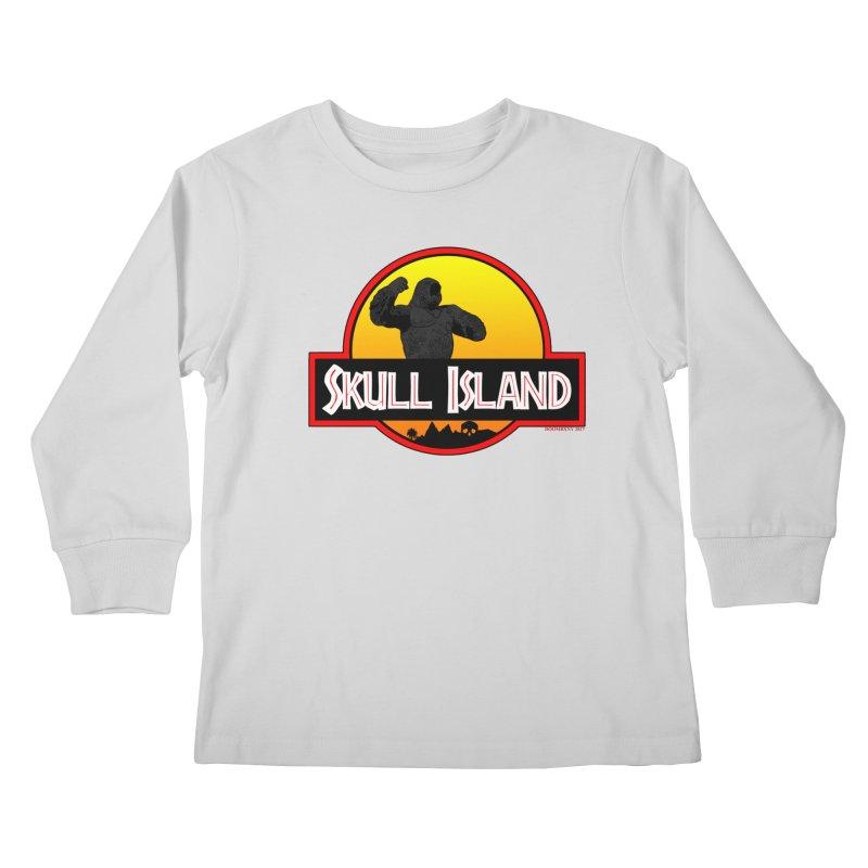 Skull Island Kids Longsleeve T-Shirt by doombxny's Artist Shop