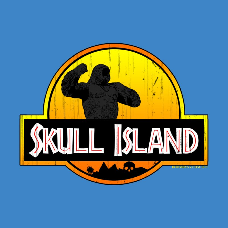 Skull Island Distressed  Men's T-Shirt by doombxny's Artist Shop