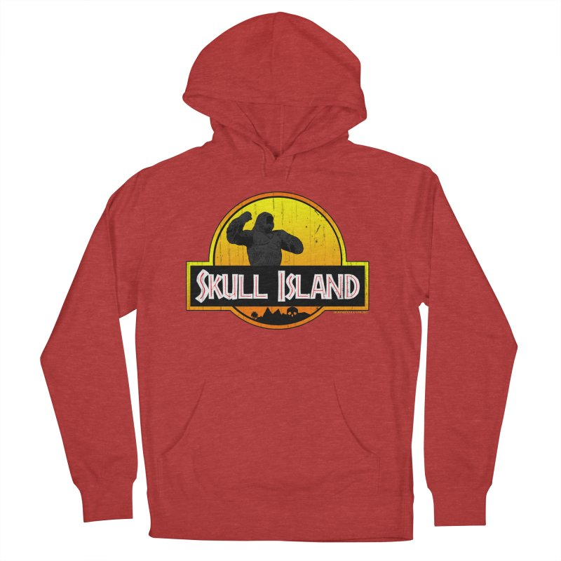 Skull Island Distressed  Women's French Terry Pullover Hoody by doombxny's Artist Shop