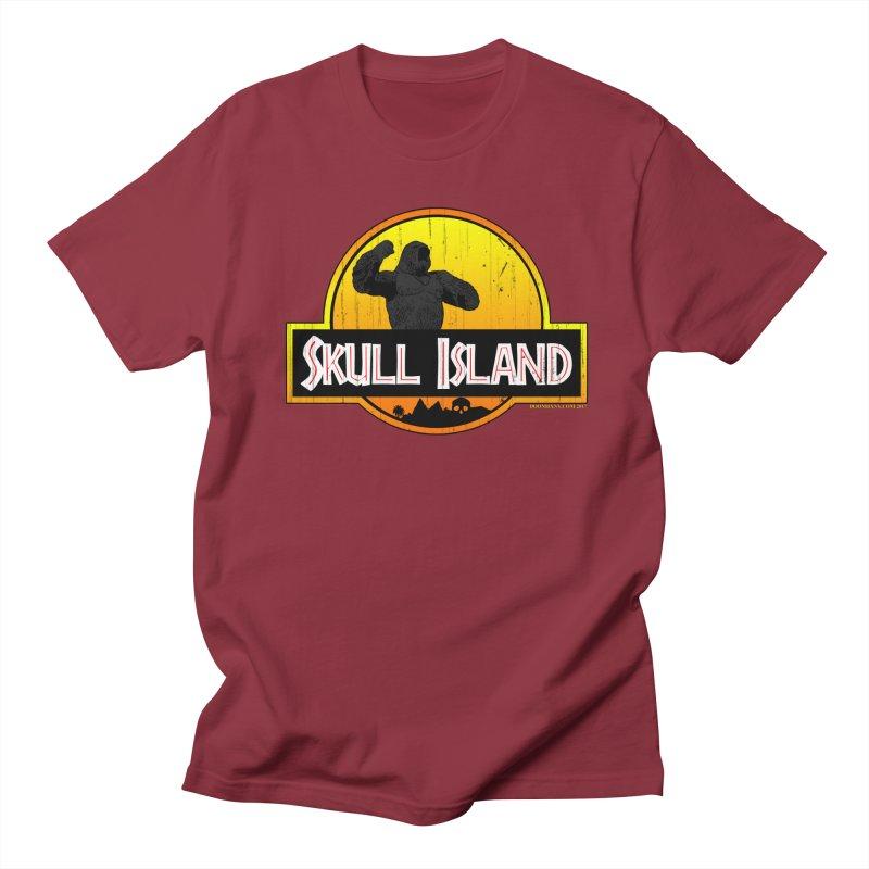 Skull Island Distressed  Men's T-Shirt by doombxny's Artist Shop