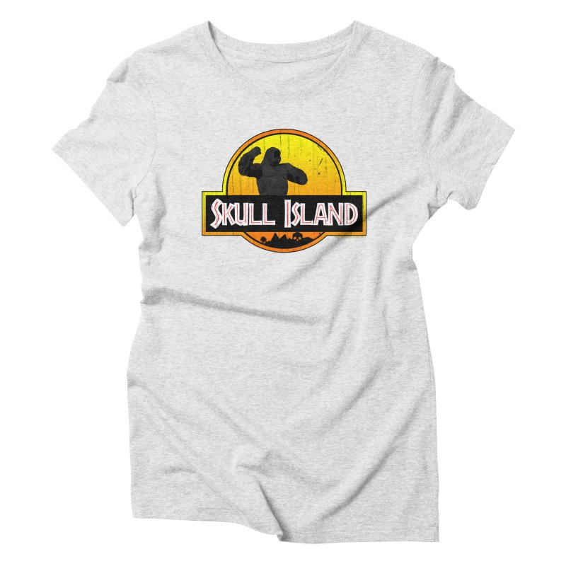 Skull Island Distressed  Women's T-Shirt by doombxny's Artist Shop
