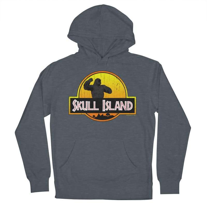 Skull Island Distressed  Women's Pullover Hoody by doombxny's Artist Shop