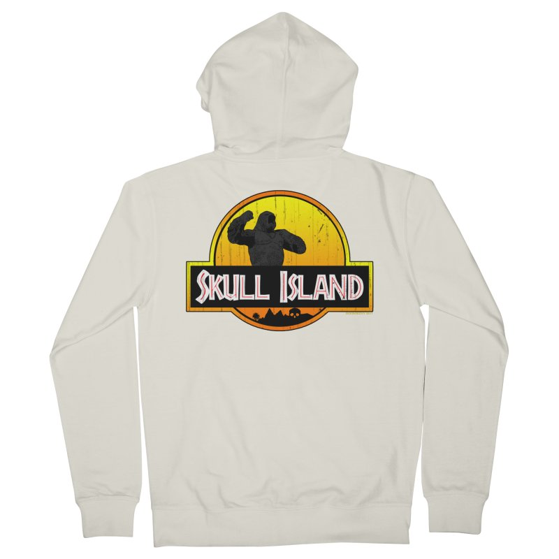 Skull Island Distressed  Women's Zip-Up Hoody by doombxny's Artist Shop
