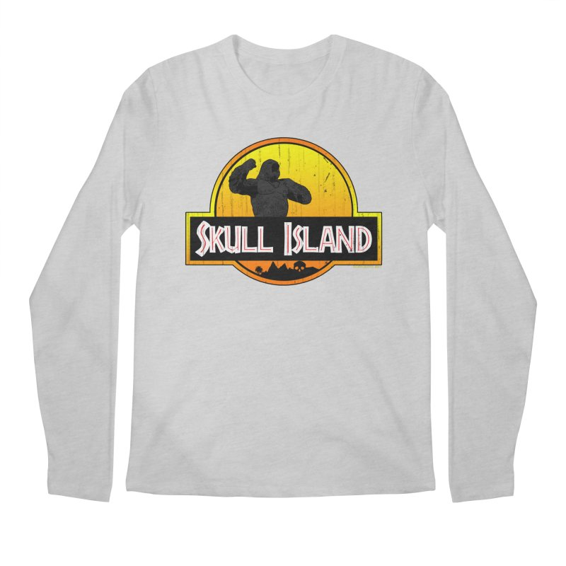 Skull Island Distressed  Men's Longsleeve T-Shirt by doombxny's Artist Shop