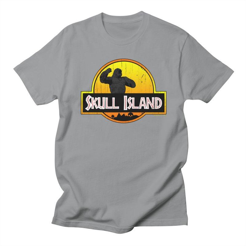 Skull Island Distressed  Women's Unisex T-Shirt by doombxny's Artist Shop