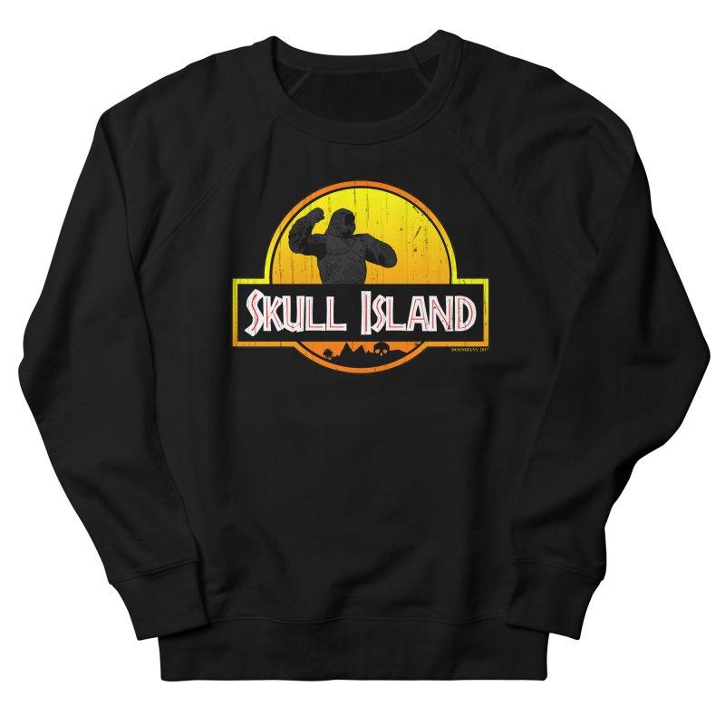 Skull Island Distressed  Women's Sweatshirt by doombxny's Artist Shop