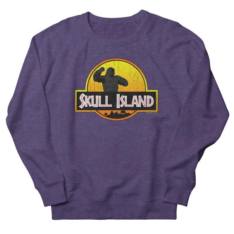 Skull Island Distressed  Men's Sweatshirt by doombxny's Artist Shop