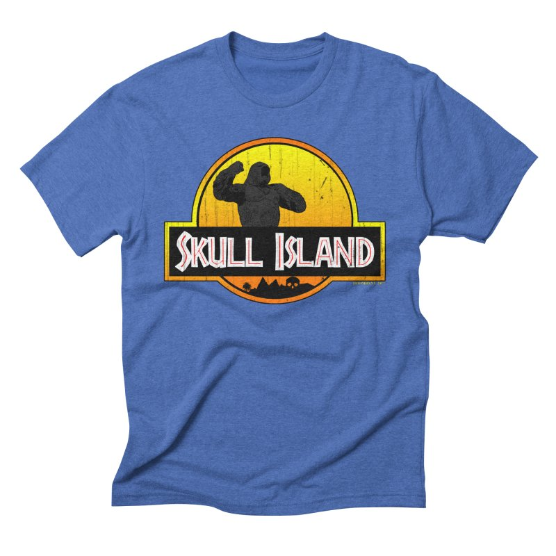 Skull Island Distressed    by doombxny's Artist Shop