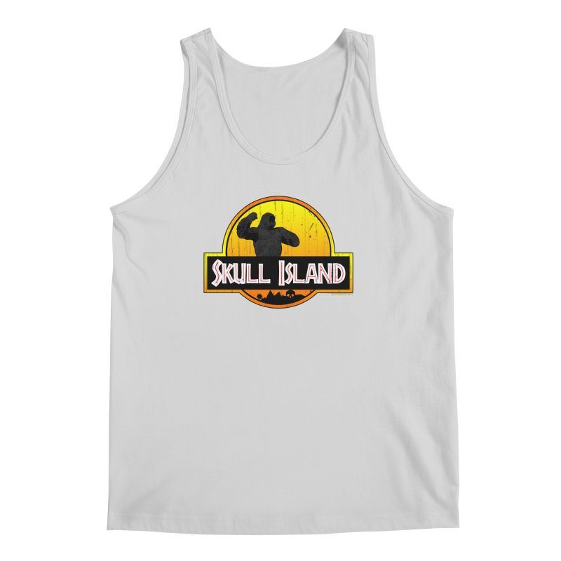 Skull Island Distressed  Men's Tank by doombxny's Artist Shop