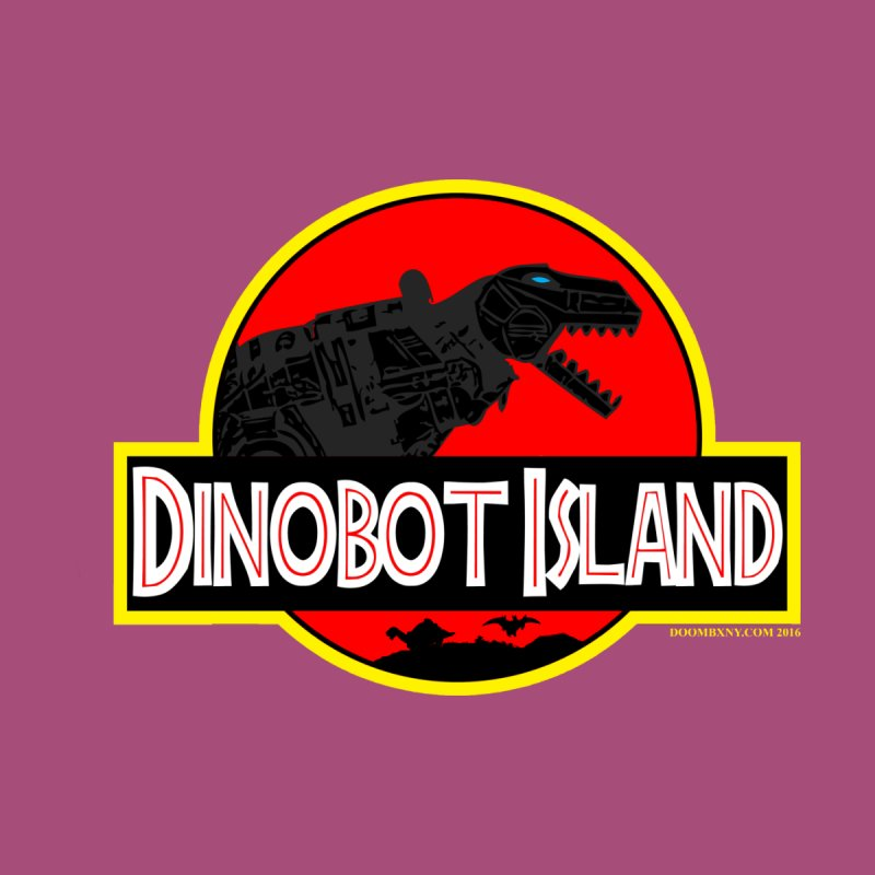 Dinobot Island Men's T-Shirt by doombxny's Artist Shop
