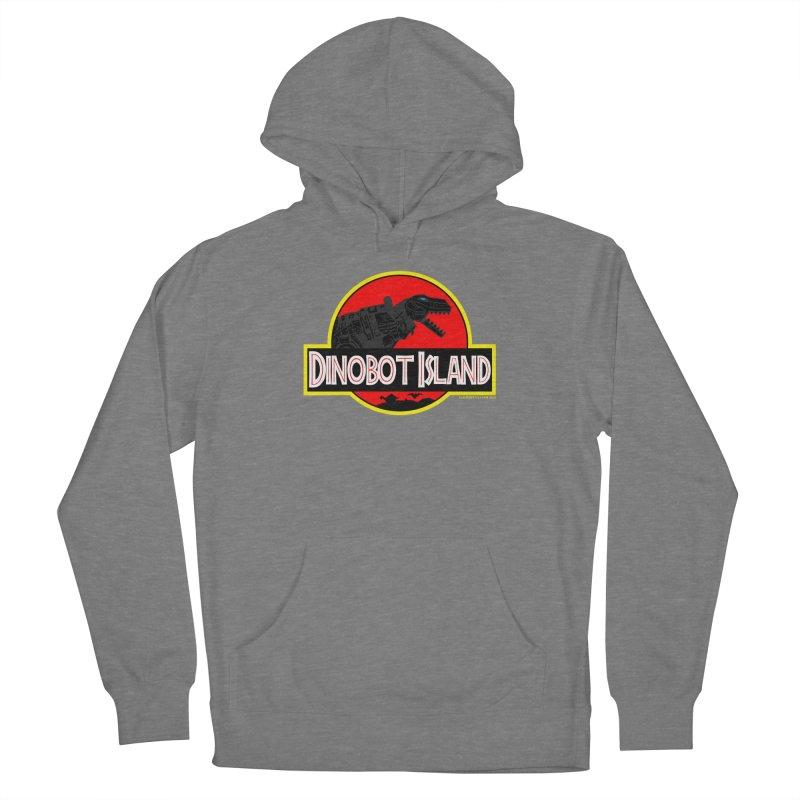 Dinobot Island Women's Pullover Hoody by doombxny's Artist Shop