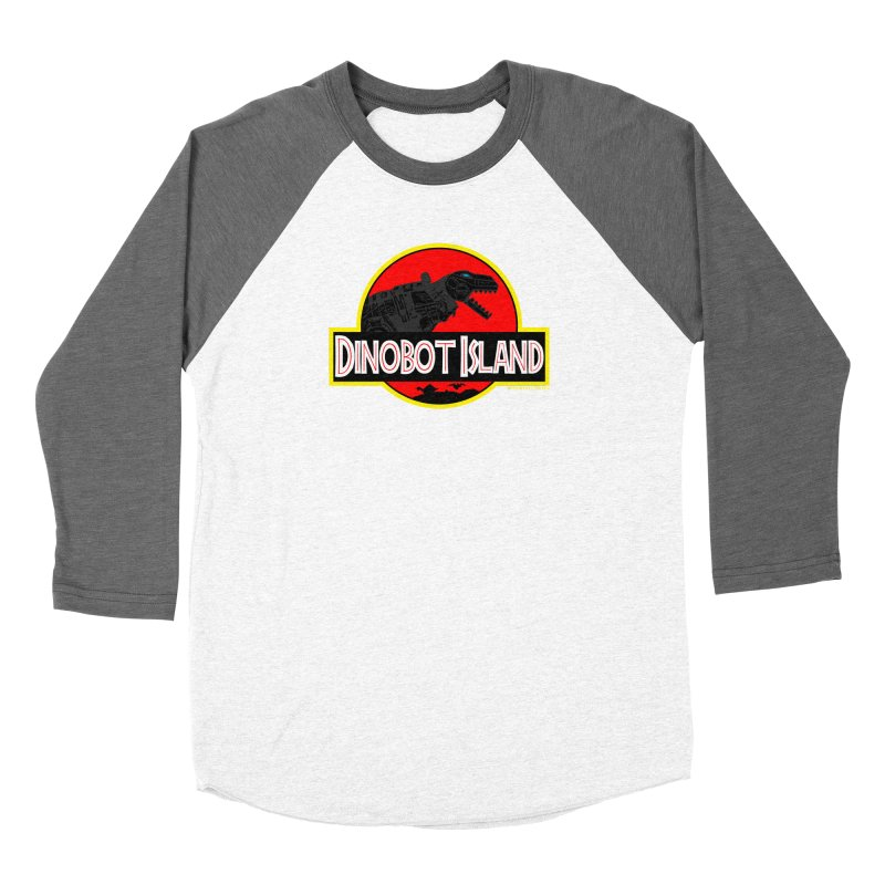 Dinobot Island Women's Longsleeve T-Shirt by doombxny's Artist Shop
