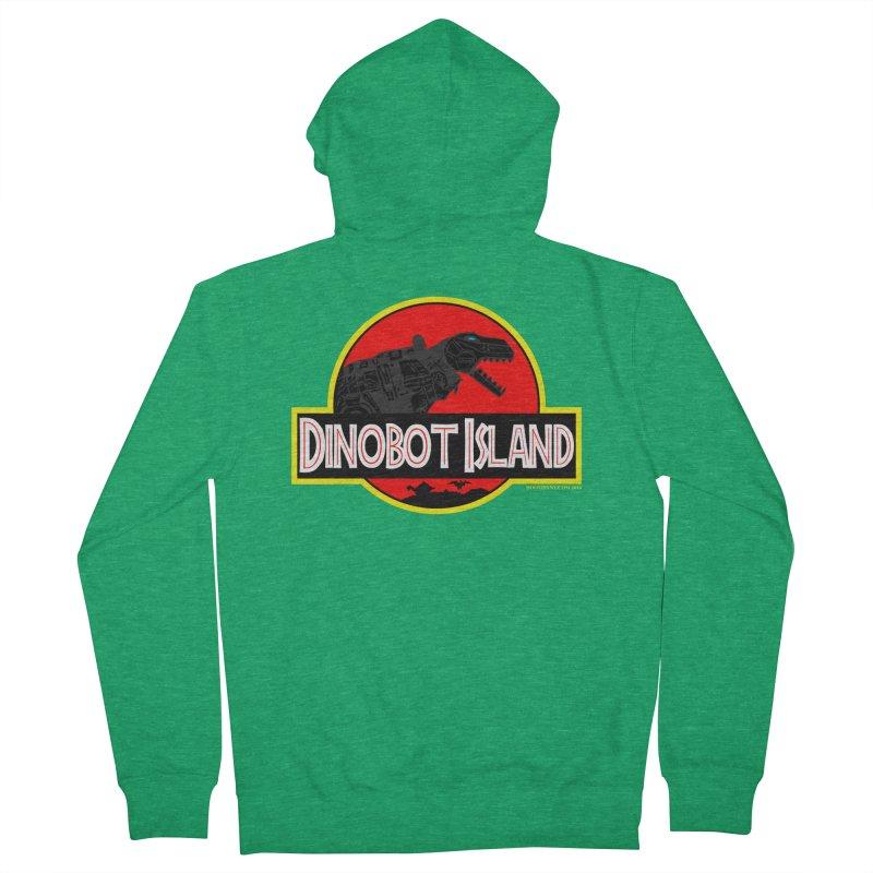 Dinobot Island Women's Zip-Up Hoody by doombxny's Artist Shop
