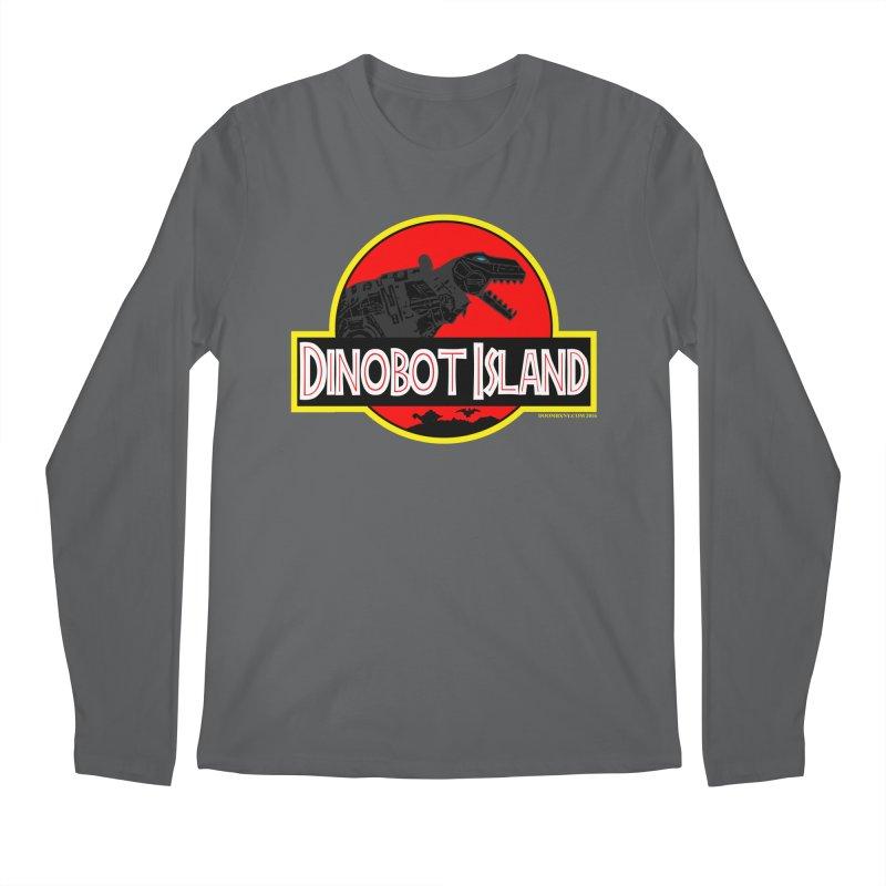 Dinobot Island Men's Longsleeve T-Shirt by doombxny's Artist Shop