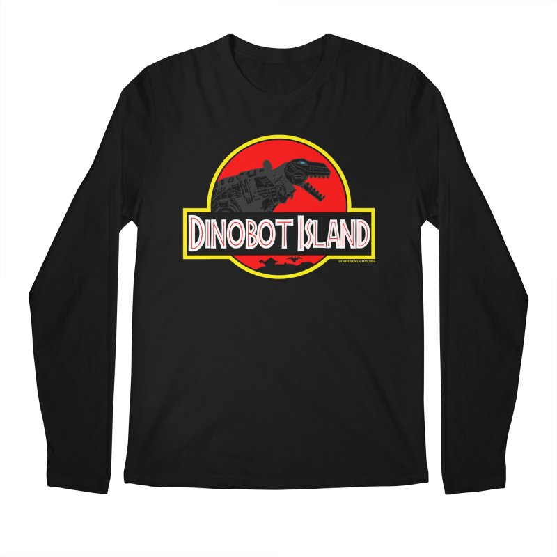 Dinobot Island Men's Regular Longsleeve T-Shirt by doombxny's Artist Shop