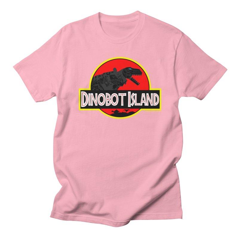 Dinobot Island Men's T-Shirt by doombxny's Artist Shop
