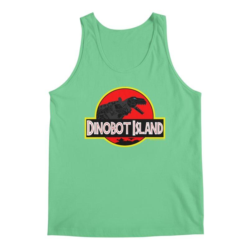 Dinobot Island Men's Tank by doombxny's Artist Shop