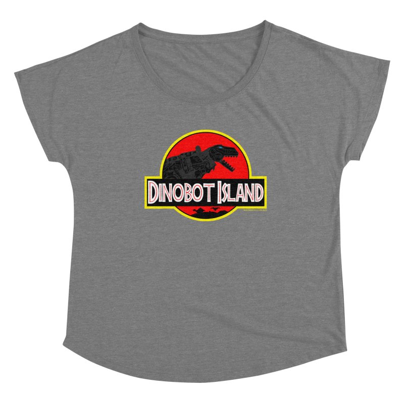 Dinobot Island Women's Scoop Neck by doombxny's Artist Shop