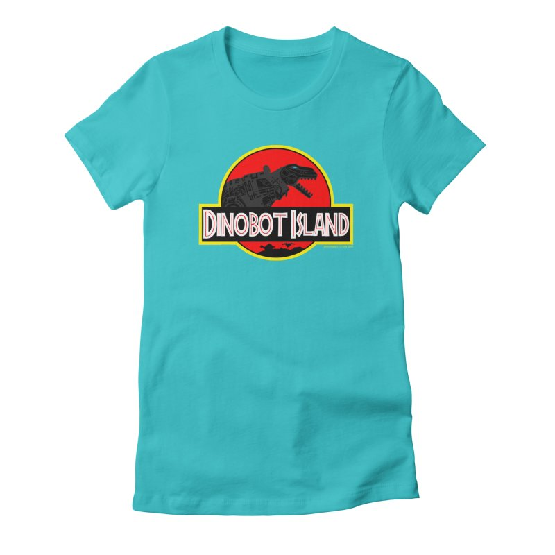 Dinobot Island Women's T-Shirt by doombxny's Artist Shop