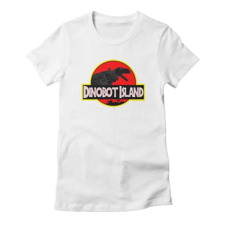 Dinobot Island Women's T-Shirt by doombxny's Artist Shop