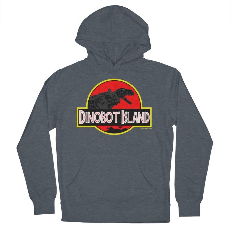 Dinobot Island Men's Pullover Hoody by doombxny's Artist Shop