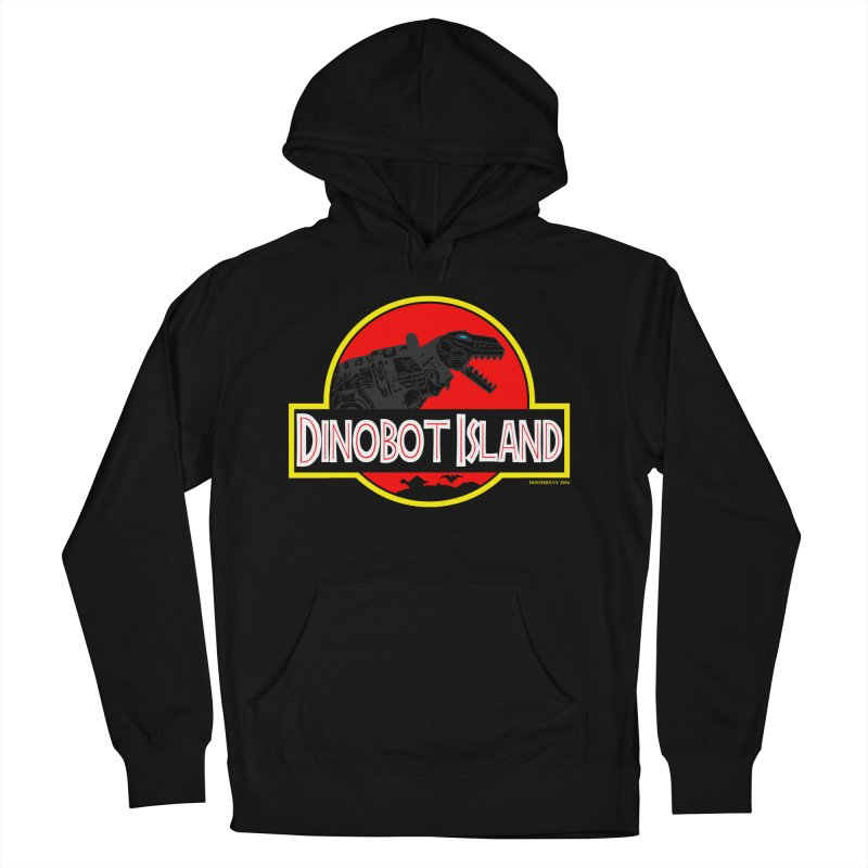 Dinobot Island Men's Pullover Hoody by doombxny's Artist Shop