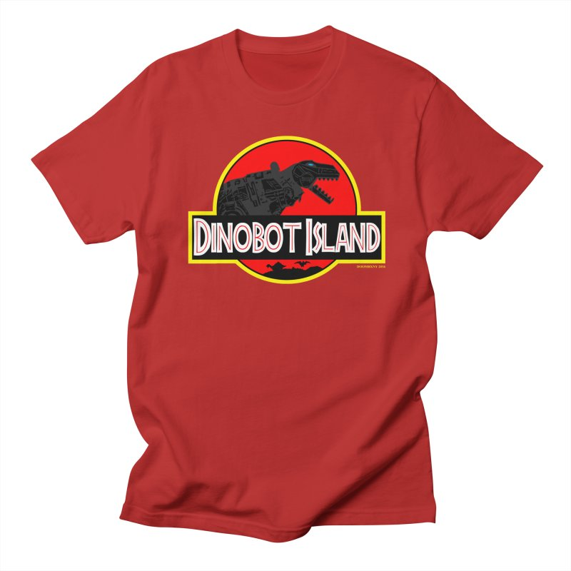 Dinobot Island Women's Unisex T-Shirt by doombxny's Artist Shop