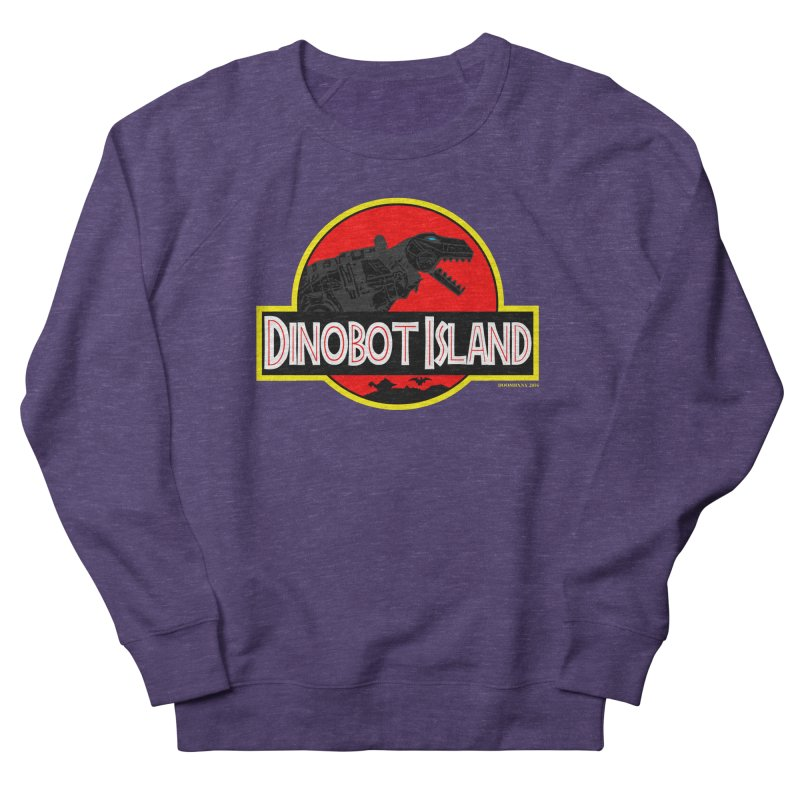 Dinobot Island Women's Sweatshirt by doombxny's Artist Shop