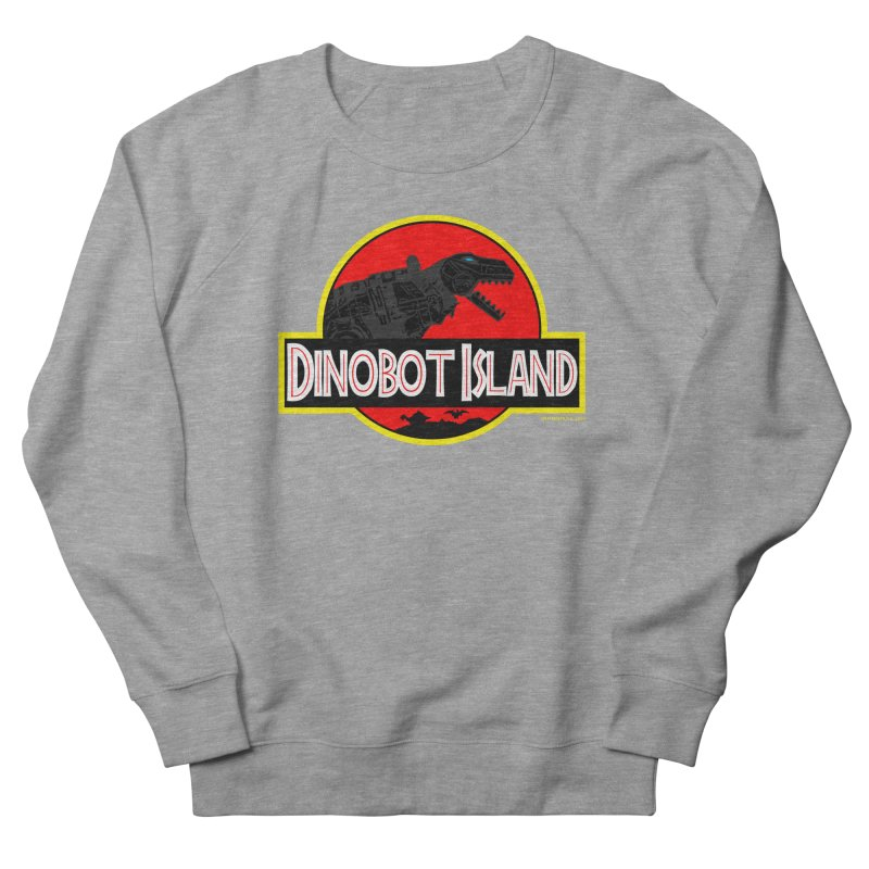 Dinobot Island Men's Sweatshirt by doombxny's Artist Shop