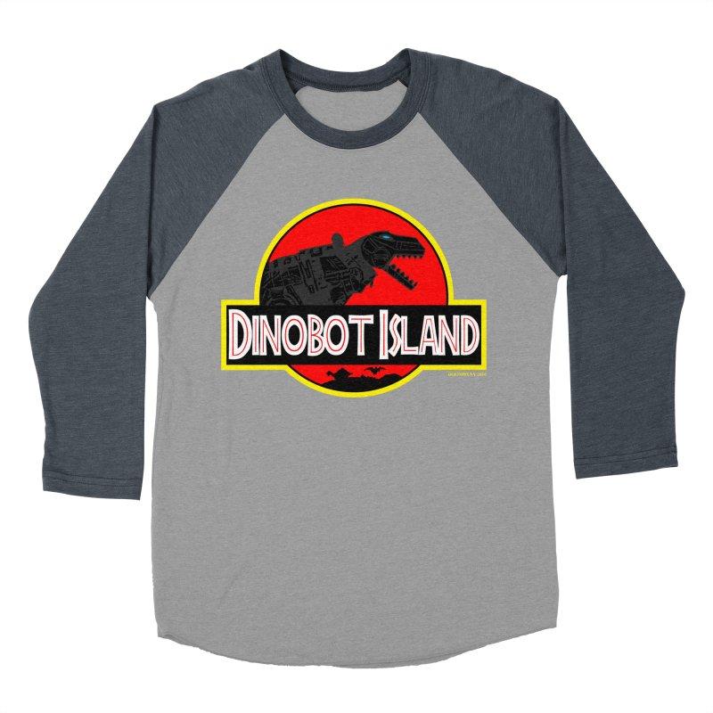 Dinobot Island Men's Baseball Triblend T-Shirt by doombxny's Artist Shop