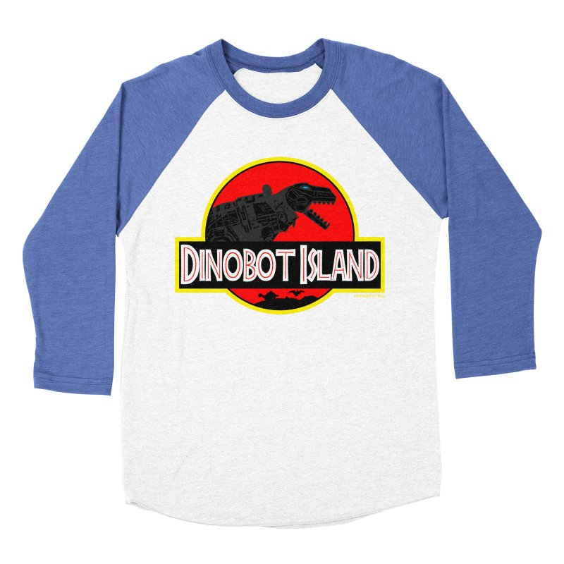 Dinobot Island Men's Baseball Triblend T-Shirt by doombxny's Artist Shop