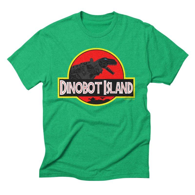 Dinobot Island Men's Triblend T-shirt by doombxny's Artist Shop
