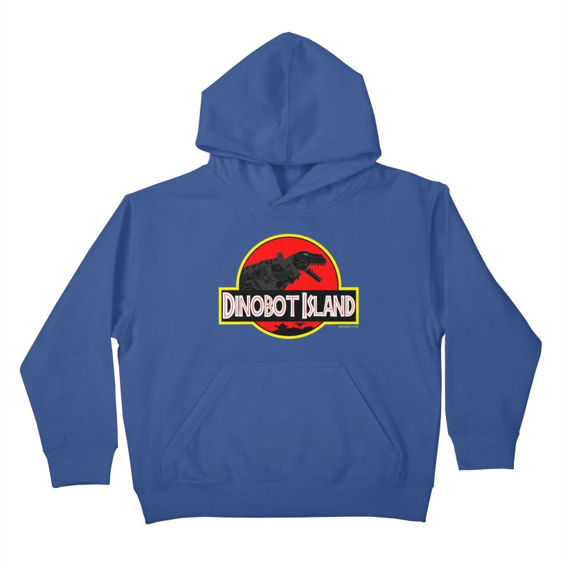 Dinobot Island Kids Pullover Hoody by doombxny's Artist Shop