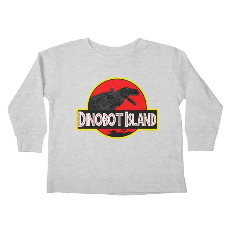 Dinobot Island Kids Toddler Longsleeve T-Shirt by doombxny's Artist Shop