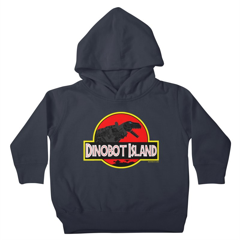 Dinobot Island Kids Toddler Pullover Hoody by doombxny's Artist Shop