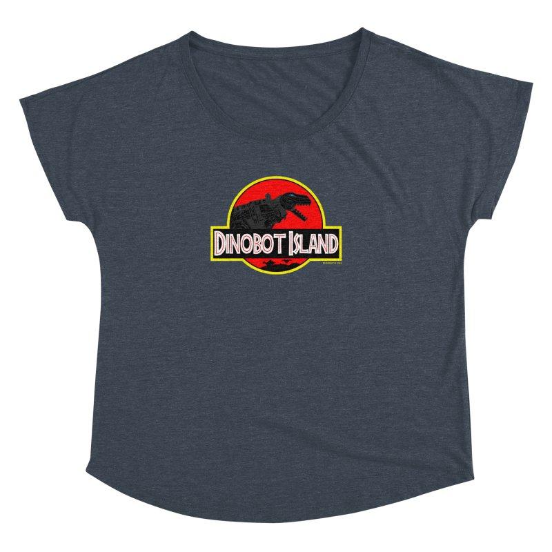 Dinobot Island Women's Dolman by doombxny's Artist Shop