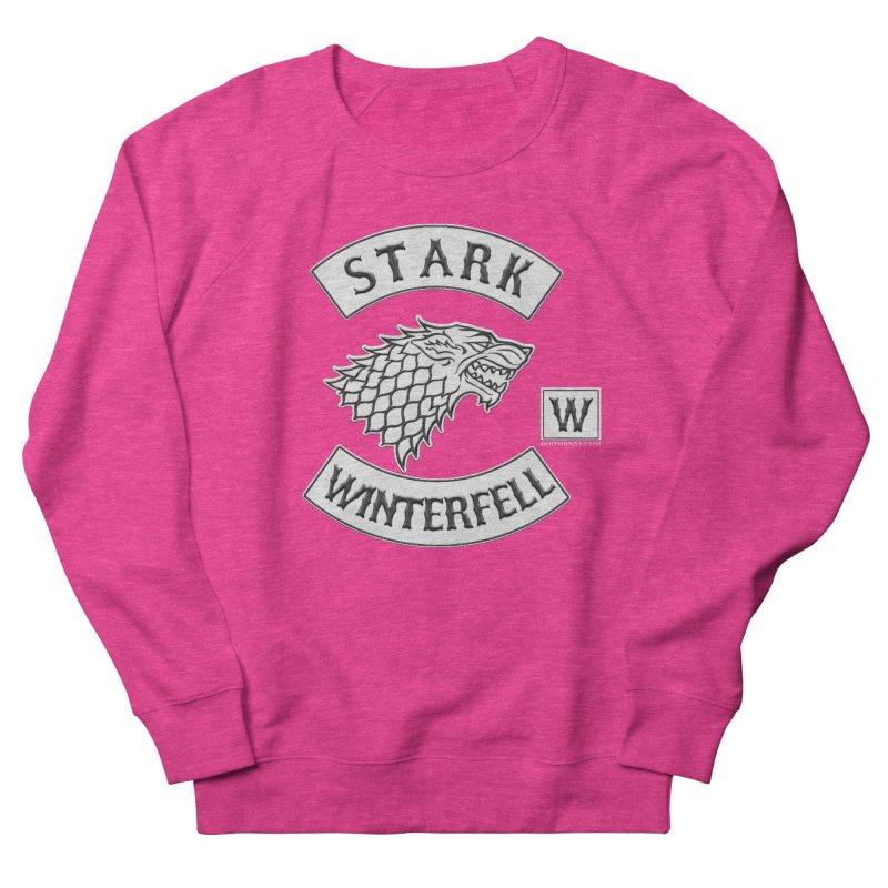 House Stark Biker Patch  Men's Sweatshirt by doombxny's Artist Shop