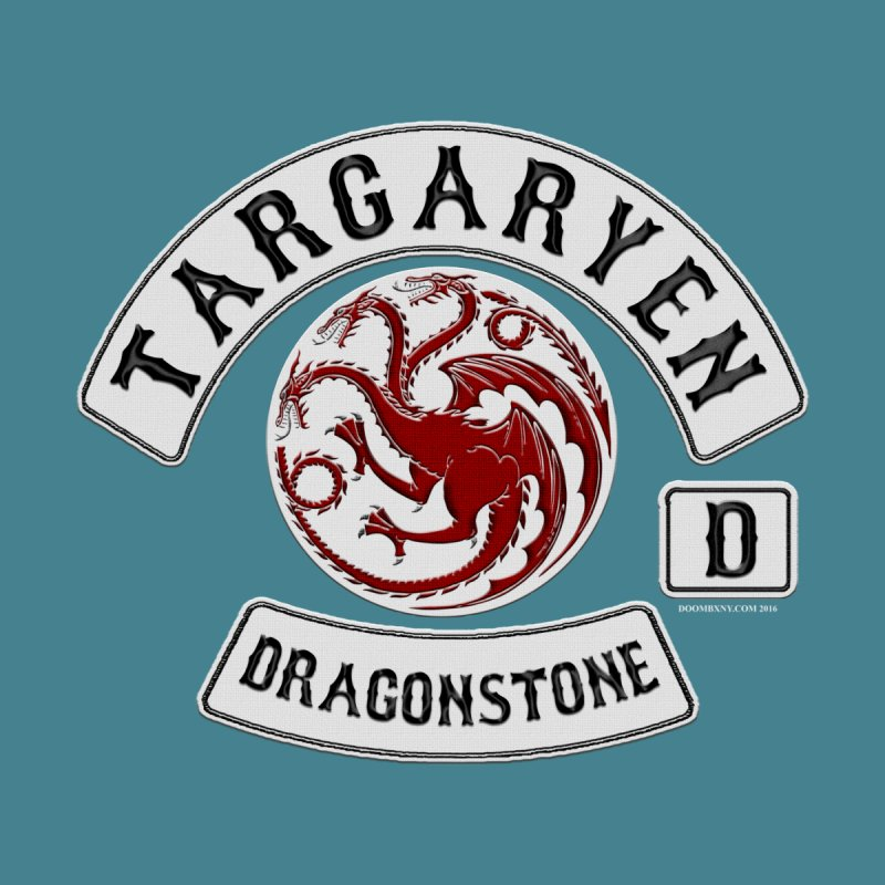 House Targaryen Biker patch Men's V-Neck by doombxny's Artist Shop
