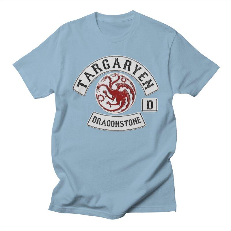 House Targaryen Biker patch Men's T-Shirt by doombxny's Artist Shop