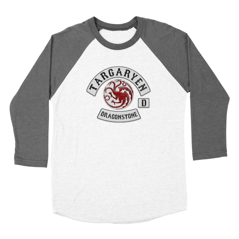 House Targaryen Biker patch Women's Longsleeve T-Shirt by doombxny's Artist Shop