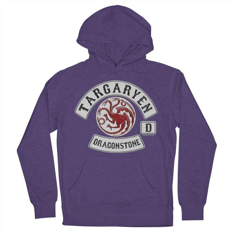 House Targaryen Biker patch Women's Pullover Hoody by doombxny's Artist Shop