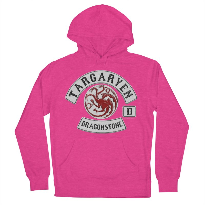 House Targaryen Biker patch Men's Pullover Hoody by doombxny's Artist Shop
