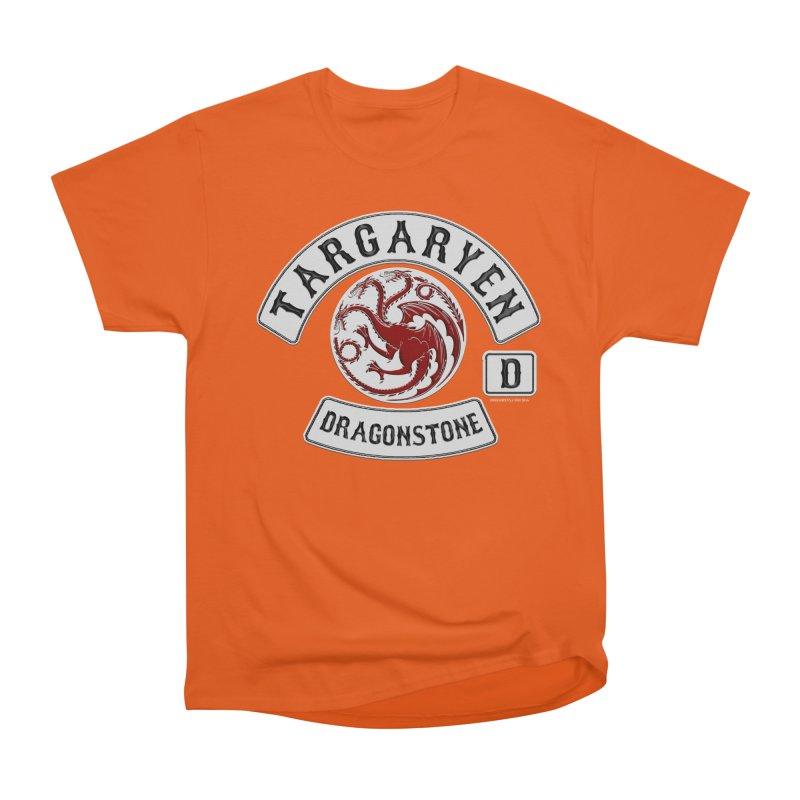 House Targaryen Biker patch Men's Classic T-Shirt by doombxny's Artist Shop