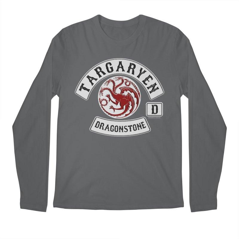 House Targaryen Biker patch Men's Longsleeve T-Shirt by doombxny's Artist Shop