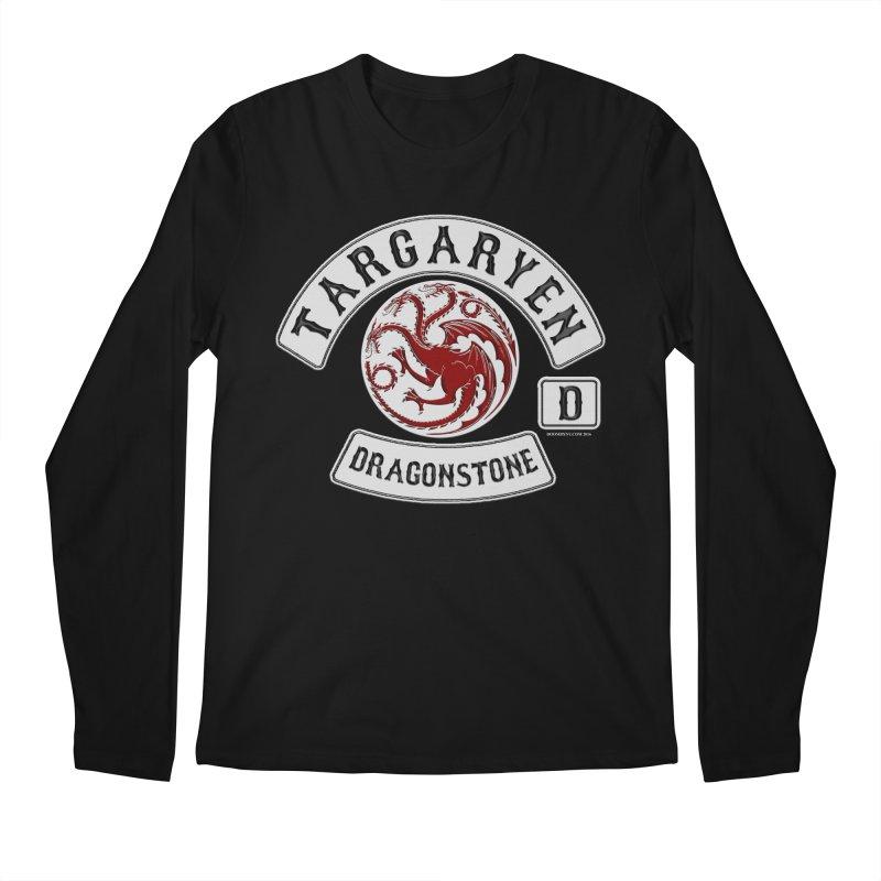 House Targaryen Biker patch Men's Regular Longsleeve T-Shirt by doombxny's Artist Shop