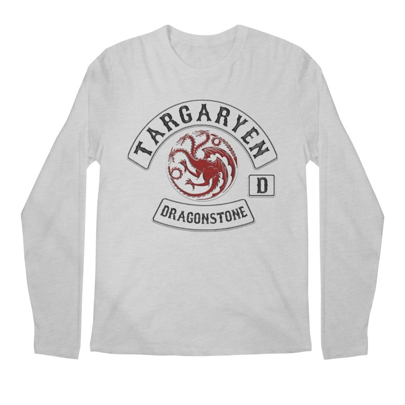 House Targaryen Biker patch Men's Longsleeve T-Shirt by doombxny's Artist Shop