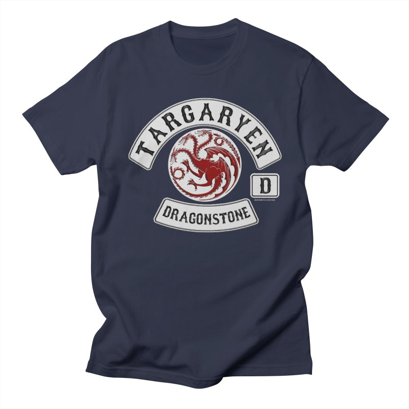 House Targaryen Biker patch Men's T-Shirt by doombxny's Artist Shop